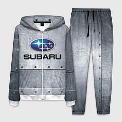 Костюм мужской SUBARU цвета 3D-белый — фото 1