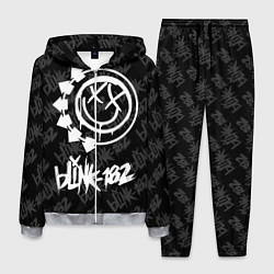 Костюм мужской Blink-182 4 цвета 3D-меланж — фото 1
