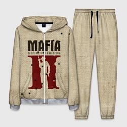 Костюм мужской Mafia 2 цвета 3D-меланж — фото 1
