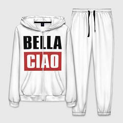 Костюм мужской Bella Ciao цвета 3D-белый — фото 1