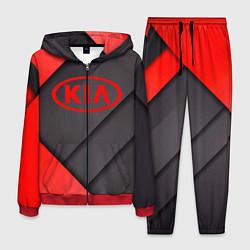 Костюм мужской KIA цвета 3D-красный — фото 1