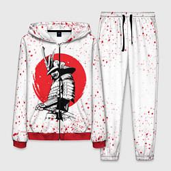 Костюм мужской Самурай в каплях крови Z цвета 3D-красный — фото 1