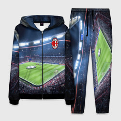 Костюм мужской FC MILAN цвета 3D-черный — фото 1