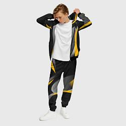Костюм мужской Juventus Uniform цвета 3D-черный — фото 2