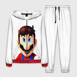 Костюм мужской Mario цвета 3D-красный — фото 1