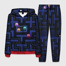 Костюм мужской Pacman цвета 3D-красный — фото 1