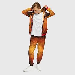 Костюм мужской Ванпанчмен цвета 3D-красный — фото 2