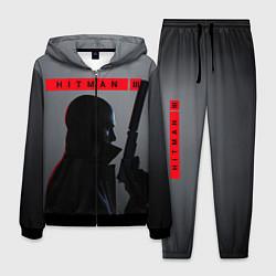 Костюм мужской Hitman III цвета 3D-черный — фото 1