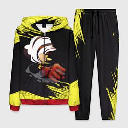 Костюм мужской Сайтама One Punch Man цвета 3D-красный — фото 1
