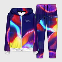 Костюм мужской Phonk Neon цвета 3D-белый — фото 1