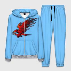 Костюм мужской Орел цвета 3D-меланж — фото 1