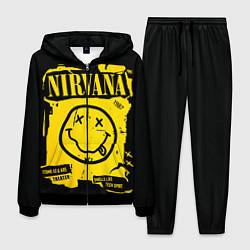 Костюм мужской Nirvana 1987 цвета 3D-черный — фото 1