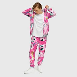 Костюм мужской Pinkie Pie pattern цвета 3D-меланж — фото 2