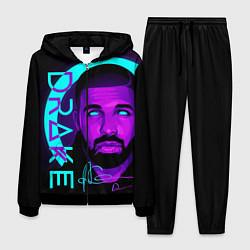 Костюм мужской Drake цвета 3D-черный — фото 1