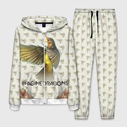 Костюм мужской Imagine Dragons: Fly цвета 3D-белый — фото 1