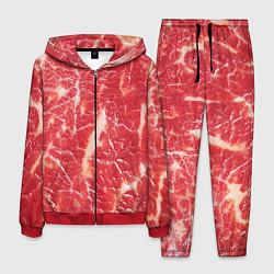 Костюм мужской Мясо цвета 3D-красный — фото 1