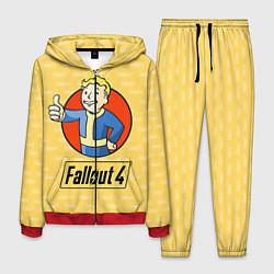 Костюм мужской Fallout 4: Pip-Boy цвета 3D-красный — фото 1