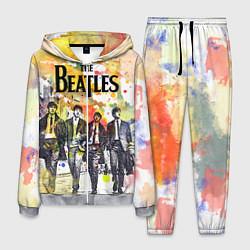 Костюм мужской The Beatles: Colour Spray цвета 3D-меланж — фото 1