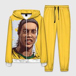 Костюм мужской Ronaldinho Art цвета 3D-белый — фото 1