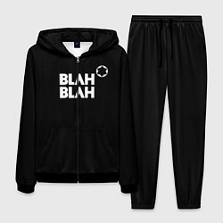 Костюм мужской Blah-blah цвета 3D-черный — фото 1