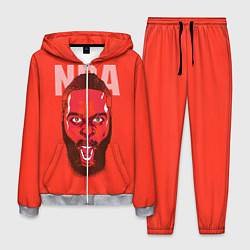 Костюм мужской NBA цвета 3D-меланж — фото 1
