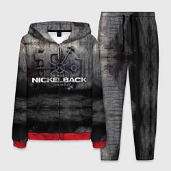 Костюм мужской Nickelback Repository цвета 3D-красный — фото 1