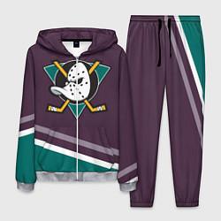 Костюм мужской Anaheim Ducks Selanne цвета 3D-меланж — фото 1
