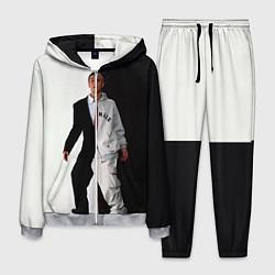 Костюм мужской Eminem: Black & White цвета 3D-меланж — фото 1