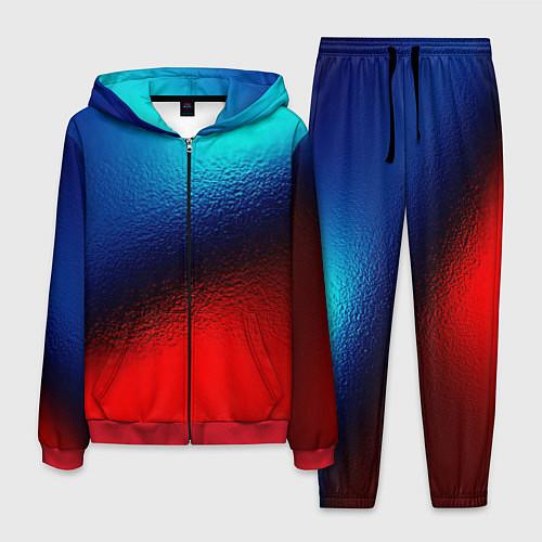 Мужской костюм Синий и красный / 3D-Красный – фото 1