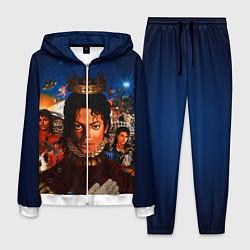 Костюм мужской Michael Jackson: Pop King цвета 3D-белый — фото 1