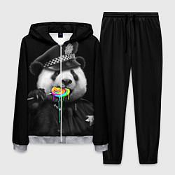 Костюм мужской Панда с карамелью цвета 3D-меланж — фото 1