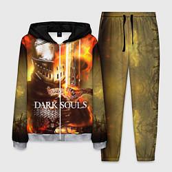 Костюм мужской Dark Souls War цвета 3D-меланж — фото 1