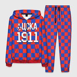 Костюм мужской ЦСКА 1911 цвета 3D-красный — фото 1
