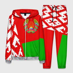 Костюм мужской Патриот Беларуси цвета 3D-меланж — фото 1