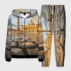Костюм мужской Площадь святого Петра цвета 3D-черный — фото 1