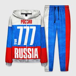 Костюм мужской Russia: from 777 цвета 3D-меланж — фото 1