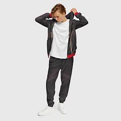 Костюм мужской Ninjas in Pyjamas: Uniform цвета 3D-красный — фото 2