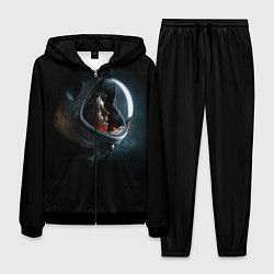 Костюм мужской Aliens Astronaut цвета 3D-черный — фото 1