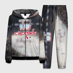 Костюм мужской Washington Capitals цвета 3D-черный — фото 1