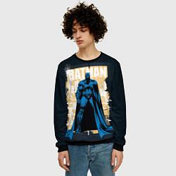 Свитшот мужской Batman цвета 3D-черный — фото 2
