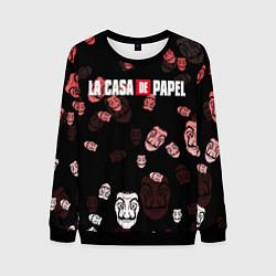 Свитшот мужской La Casa de Papel Z цвета 3D-черный — фото 1