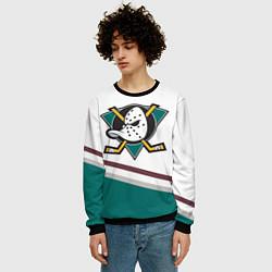 Свитшот мужской Anaheim Ducks Selanne цвета 3D-черный — фото 2