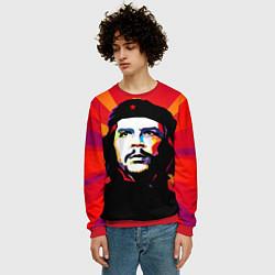 Свитшот мужской Че Гевара цвета 3D-красный — фото 2