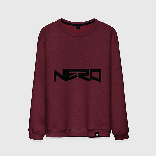 Мужской свитшот Nero / Меланж-бордовый – фото 1