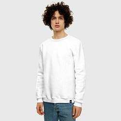 Свитшот хлопковый мужской ASSASSINS CREED цвета белый — фото 2