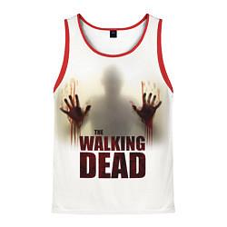 Майка-безрукавка мужская Walking Dead Shadow цвета 3D-красный — фото 1