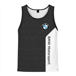 Мужская майка без рукавов BMW Motorsport: Black Carbon