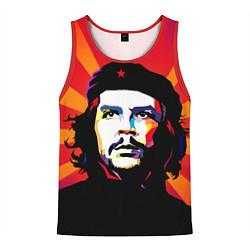 Майка-безрукавка мужская Че Гевара цвета 3D-красный — фото 1