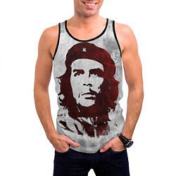 Майка-безрукавка мужская Че Гевара цвета 3D-черный — фото 2