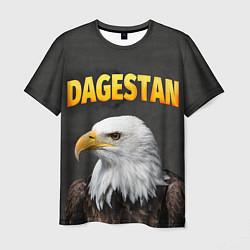 Футболка мужская Dagestan Eagle цвета 3D-принт — фото 1
